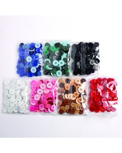 Colour Themed Button Bags