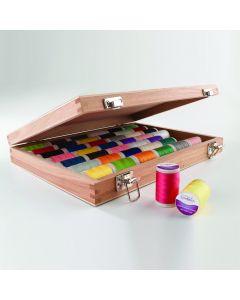 SureStitch 200m Reel Wooden Selection Box