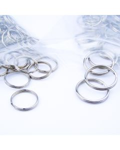 Split Rings - 24mm diameter. Pack of 100