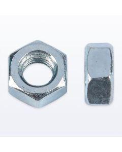 BZP Steel Hexagon Nuts. Pack of 100