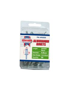 Aluminium Alloy Blind Rivets - 4.8mm. Pack of 50