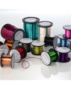 Coloured Enamelled Wire. Pack of 12