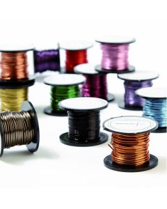 Coloured Enamelled Wire - 0.9mm 8m Reels