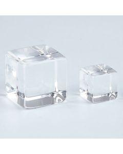 Clear Acrylic Cubes