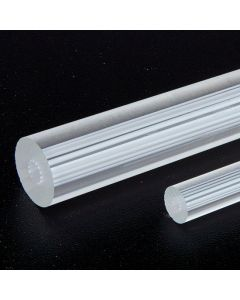 Clear Extruded Rods With Inner Lines