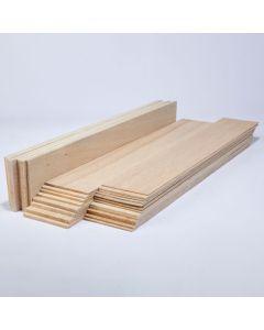 Balsa Wood Class Packs - 75mm Thin Sheets