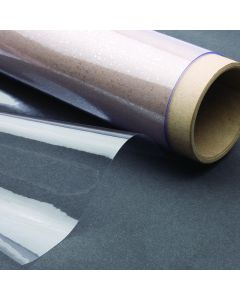 Clear PVC Sheeting - 130cm Wide