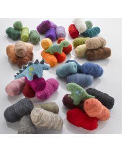 Tonal felting Wools