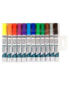 Pebeo 7A Fabric Pens - Assorted. Pack of 12