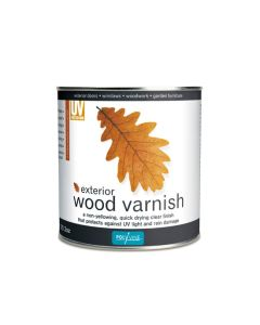 Polyvine Acrylic Exterior Wood Varnish - 1L